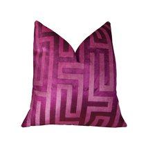 "Fuchsia Handmade Luxury Pillow  Double sided  26"" x 26"" - £536.31 GBP"