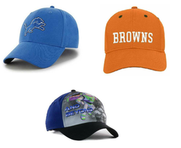 Boys Baseball Hat Toy Story Detroit Lions Cleveland Browns Adjustable Fitted-OS - $14.00
