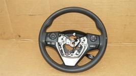 14-16 Toyota Corolla SRS Steering Wheel W/ BT Tel Radio Cruise Controls image 1