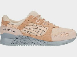 Asics Men's GEL-LYTE III Shoes NEW AUTHENTIC Bleached Apricot/Grey H7L4L... - $64.99