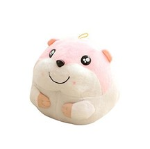 Great Gifts for Kids Lovely Hand Hold Pillow Plush Toy,Lovely Hamster,Pink
