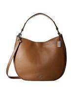 Coach Glovetanned 36026SVSD Beige Tan Leather Calf Nomad Hobo Ladies Han... - £265.75 GBP