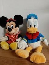 """Disney Store Authentic 18"""" McDonald Duck Sailor Suit & Minnie Mouse - $20.74"""