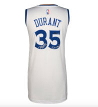 "KEVIN DURANT SIGNED WARRIORS JERSEY INSCRIBED ""FINALS MVP"" #D/135 COA AU... - $1,048.94"