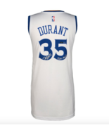 "KEVIN DURANT SIGNED WARRIORS JERSEY INSCRIBED ""FINALS MVP"" #D/135 COA AU... - £806.41 GBP"