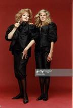 RARE CUSTOM Black Pants & Top Outfits 3pc EDIE ADAMS & MIA Worn Photo Ma... - $449.99