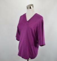 The North Face Womens Small Hooded Hoodie Shawl Sweater Sweatshirt Purple  - $23.71