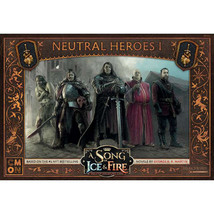 A Song of Ice & Fire Neutral Heroes Miniatures Game ASOIAF Tabletop CMNSIF505 - $27.50