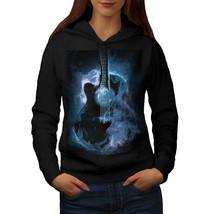 Classic Fire Guitar Sweatshirt Hoody Hot Music Women Hoodie - $21.99+