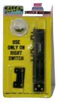Atlas Right Manual Switch Machine, Black, #63