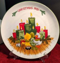 Suzy's Zoo licensed by Enesco Imports Christmas 1981 Collector Plate - $12.00