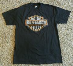 Genuine 2013 Harley Davidson Milwaukee WI T Shirt Size L Men Black Class... - $19.35