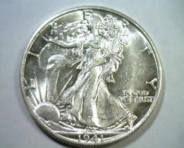 1941-D Walking Liberty Half Choice About Uncirculated+ Ch.Au+ Nice Original Coin - $29.00