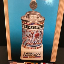 """Anheuser-Busch Budweiser """"American Olympic Team 2000"""" Summer Games Stein... - $61.38"""