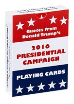 Waggish Works Donald Trump Playing Cards Black - Presidential Novelty Ca... - $9.29