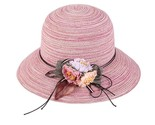 floppy straw hat women ladies wide brim beach hat sun foldable cap female elegant thumb155 crop