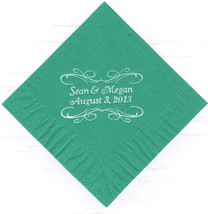 Pita Scroll Logo 50 Personalized Printed Luncheon Dinner Paper Napkins - $11.87+