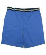 "NWT IZOD ""Main Floor"" Flat Front Shorts Men's W38 Inseam 10"" 100% Cotton... - $29.65"