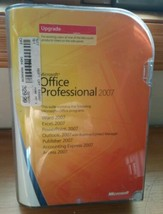 Microsoft Office Professional 2007 UPGRADE. With Key Code - $29.69