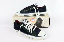 Vtg New Converse Chuck Taylor Mens 4.5 All Star Low Navy Forest Corduroy... - $292.99