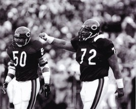 Mike Singletary & William Perry 8X10 Photo Chicago Bears Picture The Fridge - $3.95