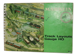 Marklin HO Track Layouts 0351, 86 pages Excellent condition some ware