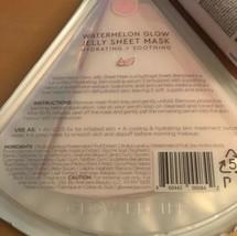Glow Recipe Lot 1x 10ml Watermelon Glow Pink Juice & 1 Jelly Sheet Hydrogel Mask image 2