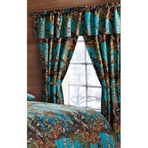 The Woods Camo Sea Breeze 5 Piece Licensed Curtain Set - $28.50