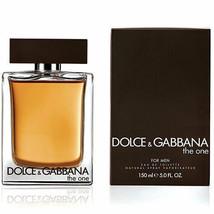 D & G THE ONE BY  DOLCE & GABBANA 5.0 OZ EAU DE TOILETTE SPRAY MEN SEALE... - $59.99