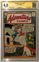 Ramona Fradon Art SIGNED CGC SS 4.0 Superboy Adventure Comics #269 1st A... - $366.29