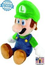 Nintendo Authentic Little Buddy Super Mario Luigi Yoshi Plush 8.5 Inch M... - $12.86
