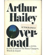Overload by Arthur Hailey (1979 hc/dj) ~ SIGNED first ed ~ author of Air... - $24.70