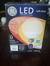 GE Lighting 37922 Dimmable LED Decorative Bulb, Soft White, 5 W - $15.79