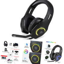 [Newest 2019] Gaming Headset for Xbox One S, X, PS4, PC with Soft Breathing E... - $50.38