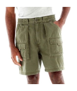 St. John's Bay Hiking Shorts Green Mountain New Size 34, 36, 38, 44 New   - $16.99