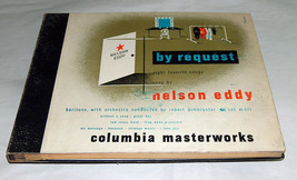 Columbia Masterwork Record Eddy Nelson par Demande Favorite Songs Ensemb... - $14.13