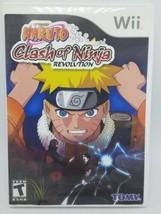 Naruto: Clash Of Ninja Revolution (Nintendo Wii, 2007) sin Manual - $9.94