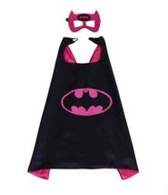 TPDT* Style 12 Superhero Capes And Mask Superman Spiderman Batman Super ... - £8.04 GBP