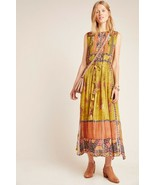 NWT ANTHROPOLOGIE CITRON EMBRIDERED GOWN MAXI DRESS by BHANUNI L - $132.99