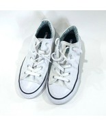 Kids Converse All Stars Sneakers Kicks White Unisex Youth Size 2 | 272 - $22.80