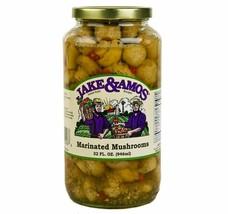 Jake & Amos Marinated Mushrooms, 32 Oz. Jar - $20.64