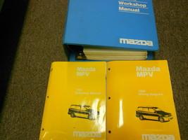 1996 Mazda Mpv Van Service Repair Shop Manual Set Factory Dealership Oem Books - $17.81