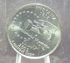 2002-D Indiana State Quarter MS65 in the Cello #823 - $0.99