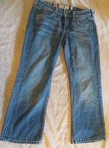 Juicy Couture Love Heart Cropped Capri Jeans Size 25 - $6.79
