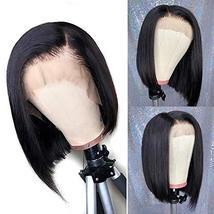 Tinashe 9A Human Hair Wigs Bob Wig Straight Hair 13x4 Lace Front Human Hair Wigs image 4