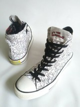 CONVERSE CHUCK TAYLOR ALL STAR The Simpsons Black-White Canvas High Tops... - $71.53