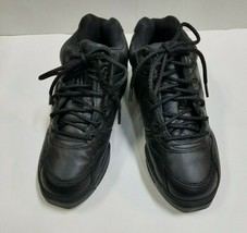 Capezio DS09 Adult Size 5.5M Black Leather High Top Dance Sneakers - $49.49