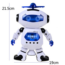 Space Dancing Humanoid Robot Toy With Light Children Pet Electronics BOH - $19.99