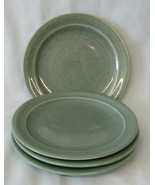 Red Wing Village Green Bread Plate, Set of 4 - $40.48