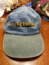Locomotive The Big Train Show Denim Adjustable Cap Hat - $17.60